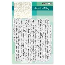 Transparent stamp: Script