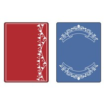 Gaufrage dossiers: Mini Banners Set