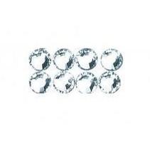 Swarovski crystal beads to iron on, 3 mm, tab-blister 20 pc, crystal