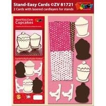 Set 2 Stand-Easy Card CupCake