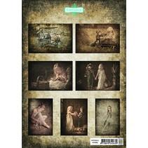 A4, Bilderbogen: Vintasia-serie children2