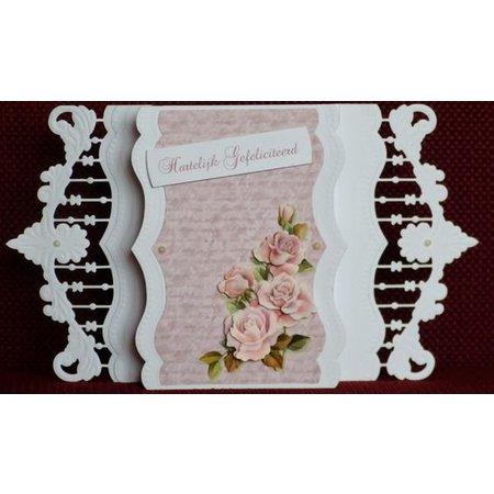 Marianne Design Corte y grabado en relieve de la plantilla