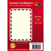 Luxury card layouts, 3 pieces