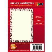 Luxus Karten Layouts , 3 Stück