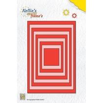 Stansning og prægning skabeloner: Multi frame rektangler