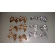 Mini bucles, 12 piezas