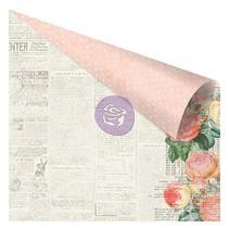 papier de scrapbooking, 30,5 x 30,5 cm dans des couleurs douces