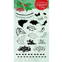 Layered Stempel, A5 Format