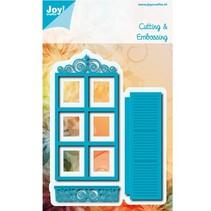 Estampagem e gravação stencil: frame / janela