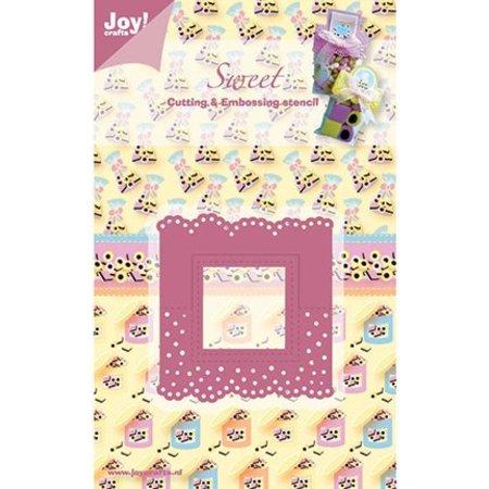 Joy!Crafts und JM Creation Head Mapa Viereck