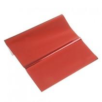 feuille métallique, 200 x 300 mm, 1 feuille, rouge