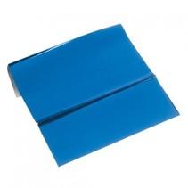 lámina metálica, 200 x 300 mm, 1 hoja, azul