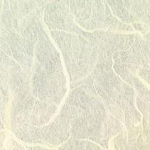 papier de soie de paille, 47 x 64 cm, crème