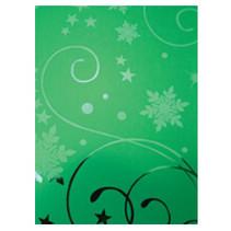 A4 effect karton, kerstgroen