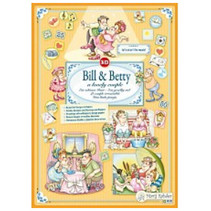 Marij Rahder 3D Decoupage Bill & Betty