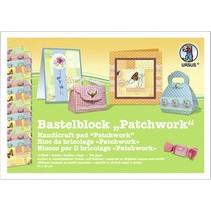 "Bastelblock ""Patchwork"", Block = 16 Blatt, 24x34cm, 300gr, doppelseitig bedruckt"