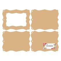 Dutch DooBaDoo: MDF mini album photo frame