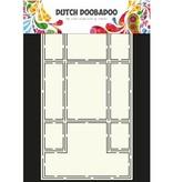 Dutch DooBaDoo Plantilla A4: Tipo de tarjeta Trifold