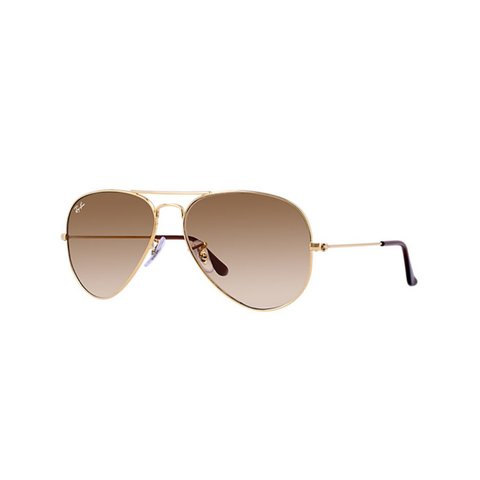 Ray-Ban - RB 3025 001/51 AVIATOR GRADIENT Gold