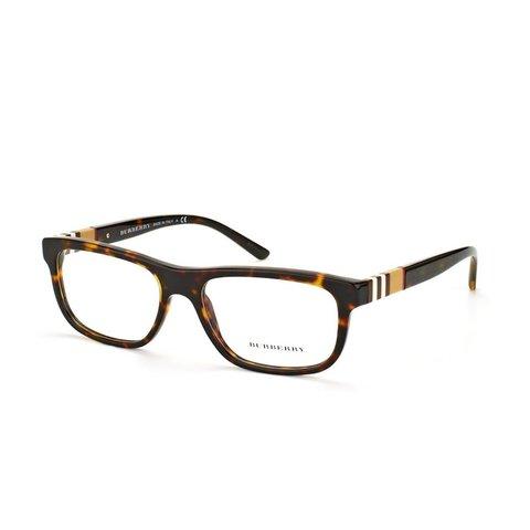 Burberry - BE 2197 3002 Havana Brown/Beige Striped