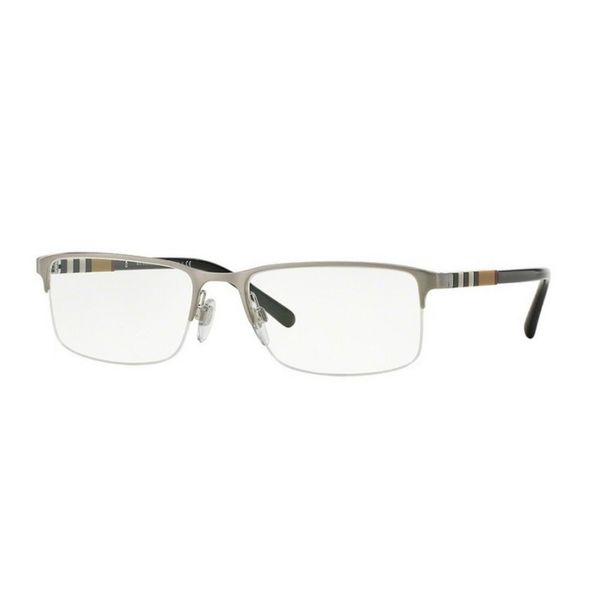 Burberry Burberry - BE 1282 1166 Silver/Black-Beige Striped