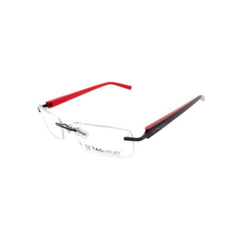 TAG Heuer - TH 8104 012 Rimless - Black/Red Interior