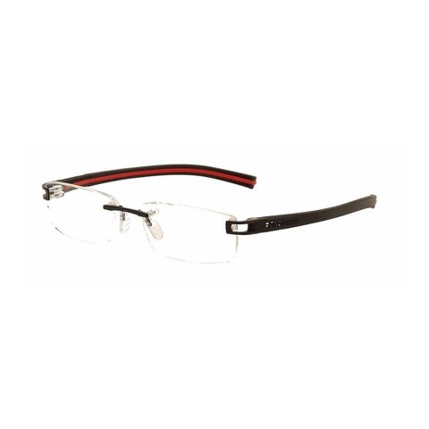 TAG Heuer - TH 7643 006 Rimless - Black/Red Interior