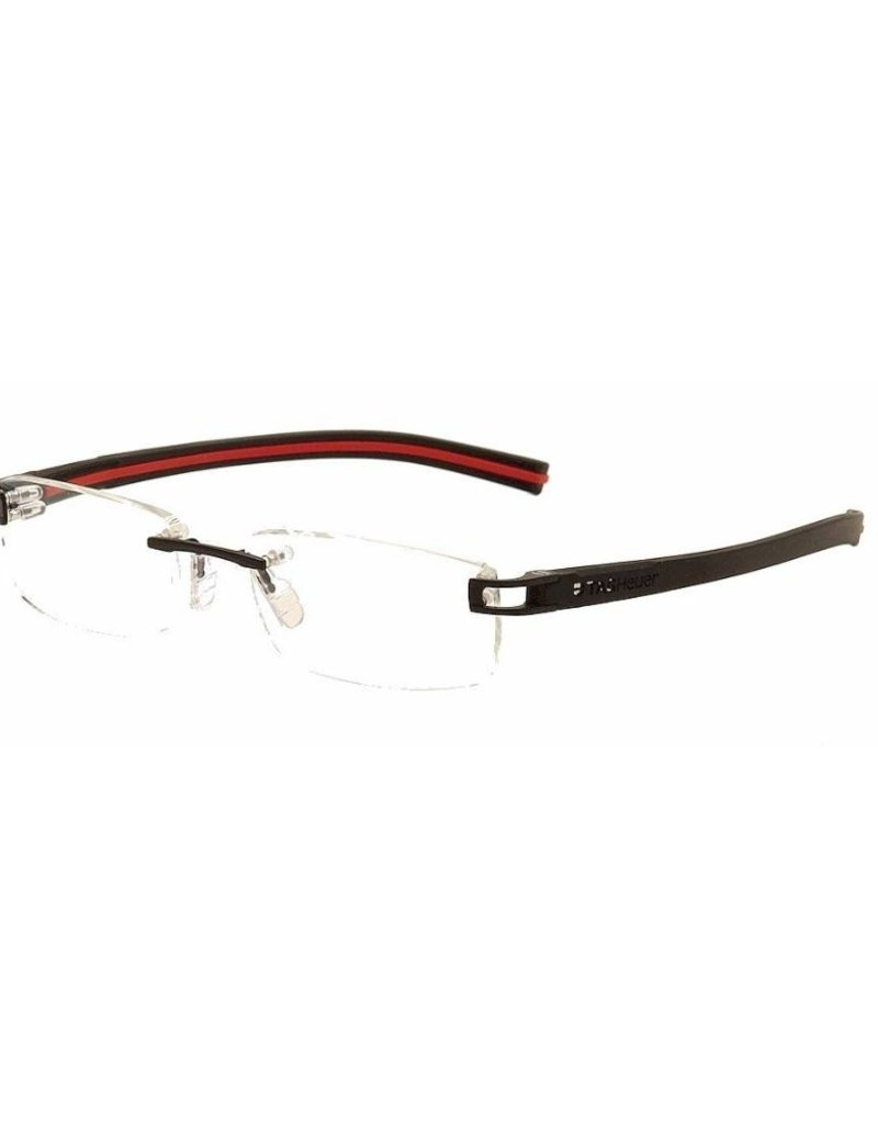 TAGHeuer TAG Heuer - TH 7643 006 Rimless - Black/Red Interior