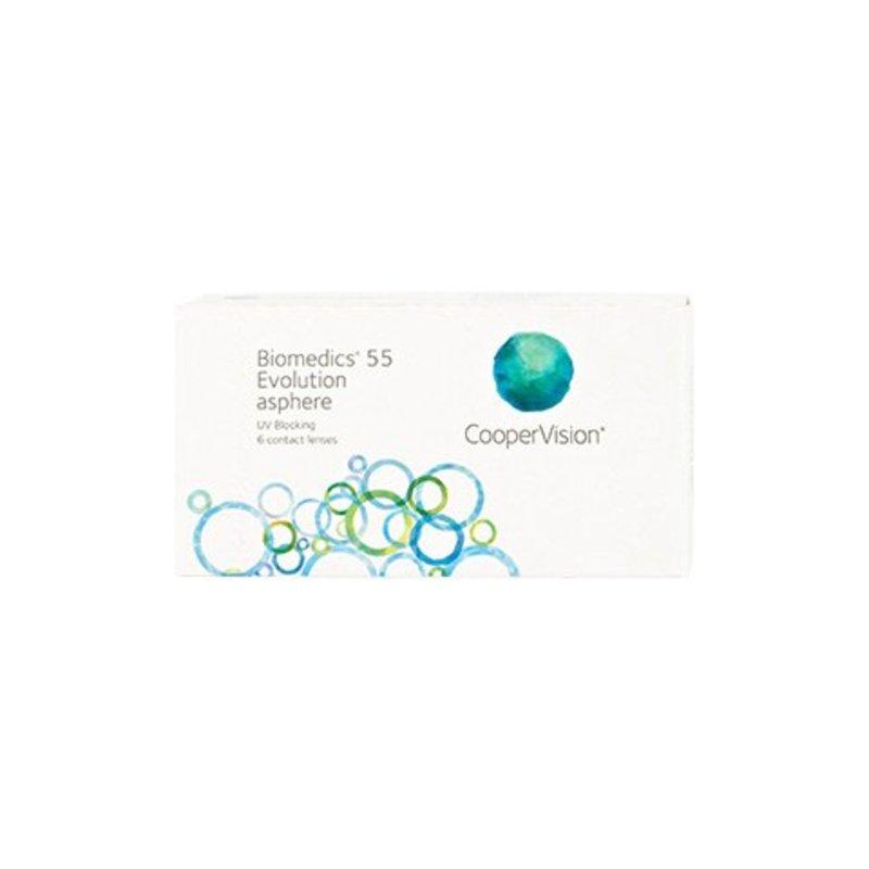 Biomedics 55 Evolution UV  6er Box Monatslinsen