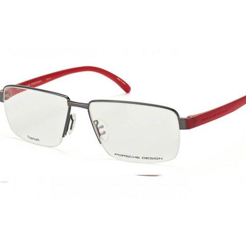 Porsche Design - P'8272 D Titanium/Red