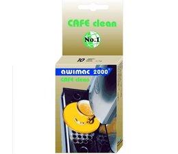 Awimac 2000 Cafe Clean reinigingstabletten voor koffiemachines, espressoapparaten en horeca-koffiezetters.