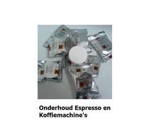 Onderhoud Espresso en Koffiemachine's