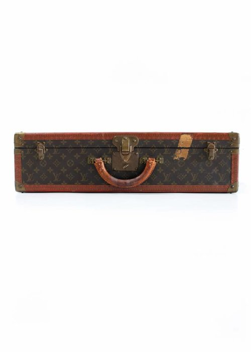 Louis Vuitton suitcase monogram