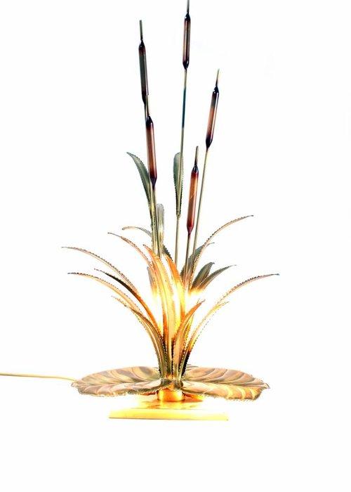 Brass cane lamp Maison Jansen