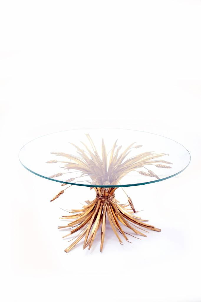 Coffee table Hollywood regency style