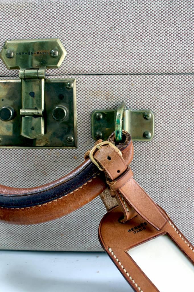 Vintage Hermès trunk