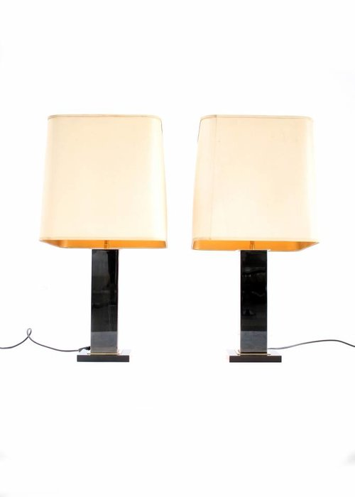 Maison Jansen table lamps