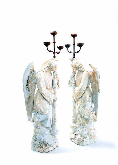 Angel candlesticks