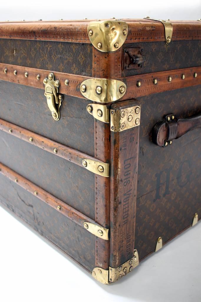 Oude Louis Vuitton reiskoffer 1920