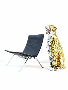 XXL Porcelain leopard