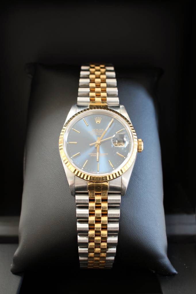 Vintage Rolex Datejust Stainless steel and 18K gold