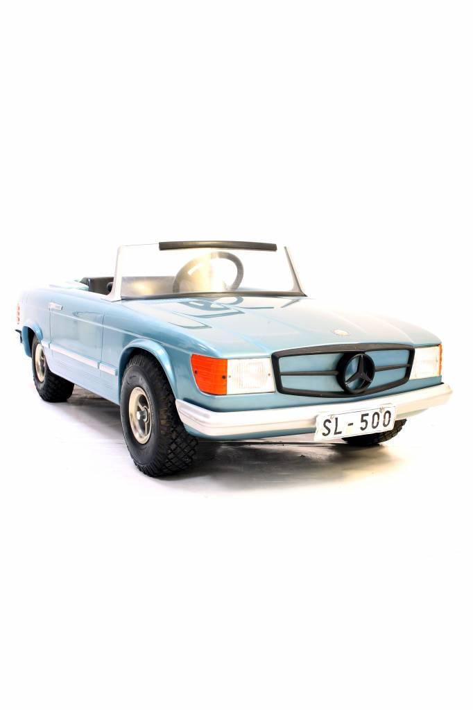 Mercedes 500SL kidscar with engine