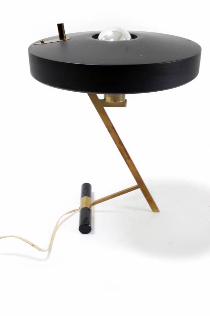 Philips bureaulamp 1955 ontwerp Louis Christiaan Kalff voor Philips Belgie