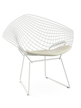 Bertoia diamond chairs