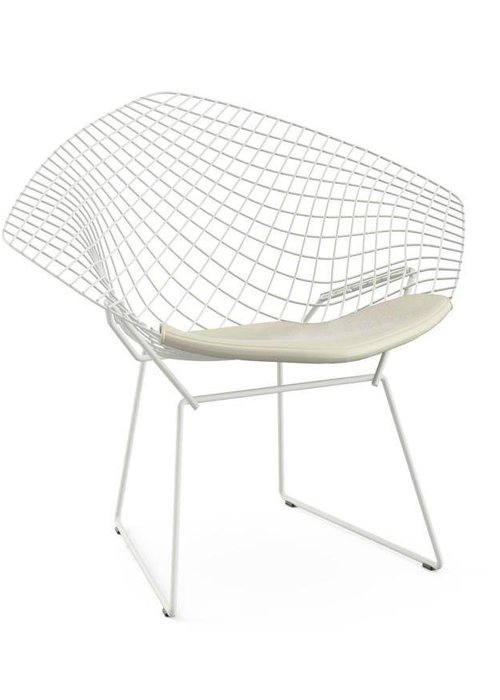 Bertoia diamond chairs