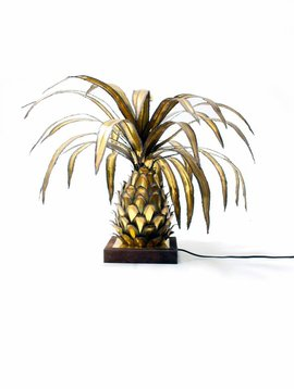 Messing ananas lamp