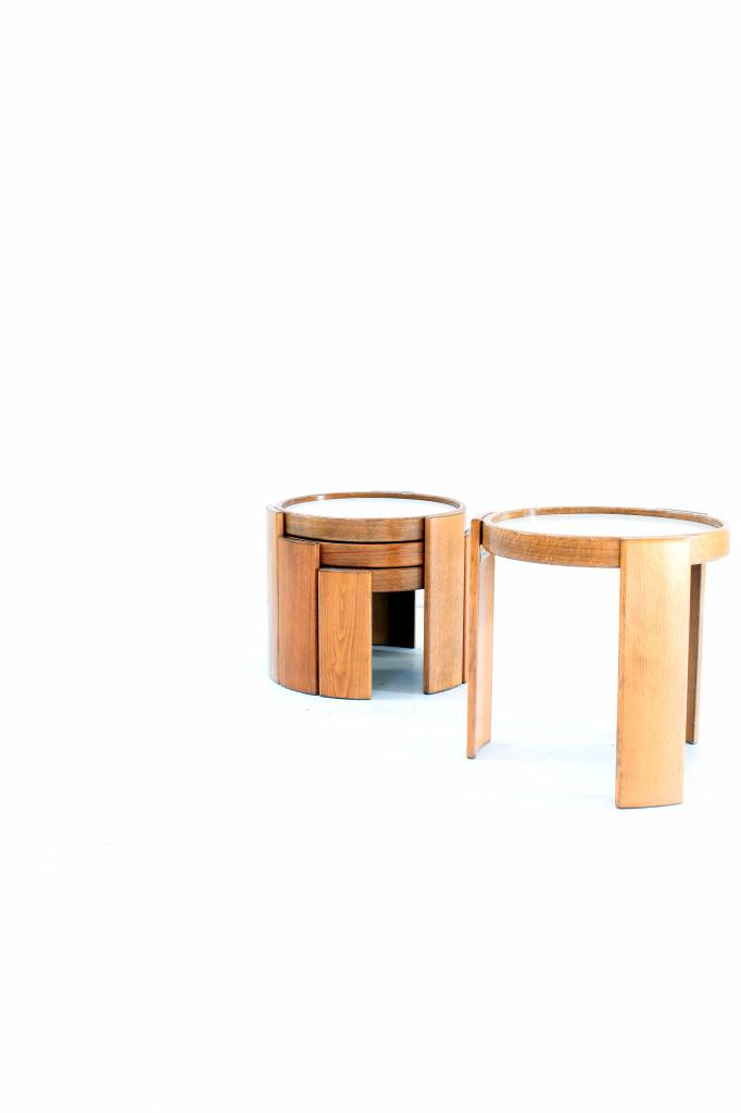 Gianfranco side tables for Cassina