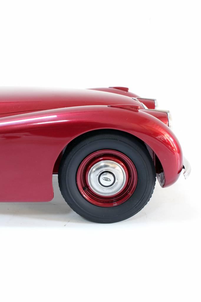 Handmade scale model jaguar XK120