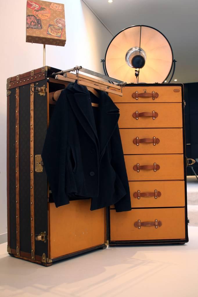 Vintage Louis Vuitton wardrobe