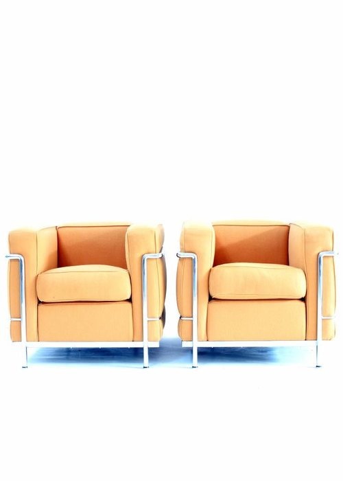 Couple Le Corbusier LC2 1 seat